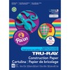 """Tru-Ray Construction Paper - ClassRoom Project - 12"""" x 9"""" - 50 / Pack - Bright Assorted - Sulphite"""