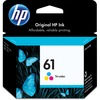 HP 61 (CH562WN) Original Ink Cartridge - Inkjet - 165 Pages - Cyan, Magenta, Yellow - 1 Each