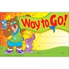 """Trend Way to Go Colorful Recognition Awards - 8.50"""" x 5.50"""" - Multicolor - 1 Pack"""