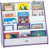"""Jonti-Craft Rainbow Accents Laminate 5-shelf Pick-a-Book Stand - 5 Compartment(s) - 1"""" - 27.5"""" Height x 30"""" Width x 13.5"""" Depth - Caster, Durable, Lam"""