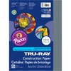"""Tru-Ray Construction Paper - Project - 12"""" x 9"""" - 50 / Pack - Slate Gray - Sulphite"""