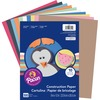 "Pacon Lightweight Construction Paper - 9"" x 12"" - 1 Pack - Assorted"