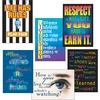 "Trend Building Character Posters Combo Pack - 13.4"" Width x 19"" Height - Assorted"