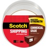 "Scotch Commercial-Grade Shipping/Packaging Tape - 54.60 yd Length x 1.88"" Width - 3.1 mil Thickness - 3"" Core - Synthetic Rubber Resin - 3.10 mil - Po"