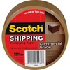 "Scotch Commercial-Grade Shipping/Packaging Tape - 54.60 yd Length x 1.88"" Width - 3.1 mil Thickness - 3"" Core - Synthetic Rubber Resin - 1 / Roll - Ta"