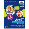 "UCreate Fine Art Paper - 10% Recycled - 9"" x 12"" - 90 lb Basis Weight - Vellum - 50 / Pack - White"