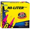 Avery® Desk/Pen-Style, Assorted Color, 24 Count (29862) - Chisel Marker Point Style - Assorted, Fluorescent Pink - Assorted Barrel - 1 / Box