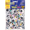 Chenille Kraft Company Assorted Wiggle Eyes Class Pack, 1000 Pc's, Assorted