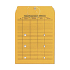 "Columbian Kraft Interdepartmental Envelopes - Inter-department - 10"" Width x 13"" Length - 32 lb - String/Button - Kraft - 100 / Box - Brown Kraft"