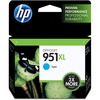 HP 951XL (CN046AN) Original Ink Cartridge - Inkjet - 1500 Pages - Cyan - 1 Each