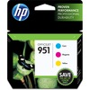 HP 951 (CR314FN) Original Ink Cartridge - Inkjet - 700 Pages - Cyan, Magenta, Yellow - 3 / Pack