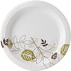 "Dixie Pathways 9"" Medium-weight Paper Plates by GP Pro - 8.50"" Diameter Plate - Paper - White - 300 Piece(s) / Box"