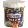 Creativity Street Dial-A-Bead Jar Assortment - Recommended For 3 Year - 900 Piece(s) - 900 / Each - Assorted