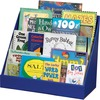 """Classroom Keepers Classroom Keeper's Corrugated Book Shelf - 3 Tier(s) - 17"""" Height x 20"""" Width x 10"""" Depth - Recycled - Blue - 1Each"""