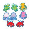 "Carson Dellosa Education Sea Life Cut-outs Bulletin Board Set - 36 (Sea Life) Shape - 0.44"" Height x 6"" Width x 8"" Length - Multicolor - 36 / Pack"