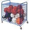 "Champion Sports Full Size Lockable Ball Locker - Steel - 36"" Length x 24"" Width x 36"" Height - Blue - 1 / Case"