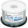 SKILCRAFT CD Recordable Media - CD-R - 52x - 700 MB - 50 Pack Spindle - 120mm - Printable - Inkjet Printable - 1.33 Hour Maximum Recording Time