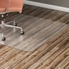"Lorell Hard Floor Rectangular Chairmat - Tile Floor, Vinyl Floor, Hardwood Floor - 48"" Length x 36"" Width x 60 mil Thickness - Rectangle - Vinyl - Cle"