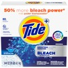 Tide Vivid Plus Bleach Detergent - Powder - 144 oz (9 lb) - Original Scent - 1 / Box - White