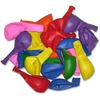 "Tatco Helium-quality Latex Balloons - 12"" Diameter - Assorted - Latex - 100 / Pack"
