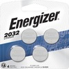Energizer 2032 Lithium Coin Battery, 4 Pack - For Multipurpose - CR2032 - Lithium (Li) - 4 / Pack