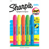 Sharpie Gel Highlighter - Bullet Marker Point Style - Fluorescent Blue, Fluorescent Green, Fluorescent Orange, Fluorescent Pink, Fluorescent Yellow Ge