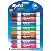 Expo Low Odor Markers - Chisel Marker Point Style - Assorted - 8 / Set