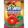 Wrigley LifeSavers 5 Flavors Hard Candies - Cherry, Raspberry, Watermelon, Orange, Pineapple - Individually Wrapped - 6.25 oz - 1 Bag