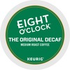 Eight O'Clock The Original Arabica Decaf Coffee - DeCaffeinated - Medium - K-Cup - 24 / Box