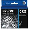 Epson DURABrite Ultra T252120 Original Ink Cartridge - Black - Inkjet - Standard Yield - 350 Pages - 1 Each
