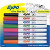 Expo Low Odor Markers - Ultra Fine Marker Point - Assorted - 8 / Set