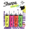 Sharpie Clear View Highlighters Set - Chisel Marker Point Style - 4 / Set