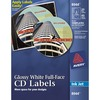 Avery® CD Labels - - LengthCircle - Inkjet - White - 20 / Pack
