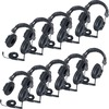 Califone 3068AV-10L Switchable Headphones Classpack - Stereo - Black - Mini-phone (3.5mm) - Wired - 36 Ohm - Over-the-head - Binaural - Circumaural -