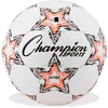 "Champion Sports Viper Soccer Ball Size 4 - 8.25"" - Size 4 - Thermoplastic Polyurethane (TPU) - Red, Black, White"