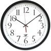 """Chicago Lighthouse 14.5"""" Selfset Wall Clock - Analog - Quartz"""