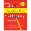 Merriam-Webster Notebook Dictionary Printed Book - Book - English