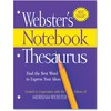 Merriam-Webster Notebook Thesaurus Printed Book - Book - English