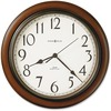 Howard Miller Talon Wall Clock - Analog - Quartz - Off White Main Dial - Cherry/Plastic Case - Medium Brown Cherry Finish
