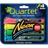 Quartet Neon Dry-Erase Markers - Bullet Marker Point Style - Neon Pink, Yellow, Green, Blue - 4 / Pack