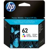 HP 62 (C2P06AN) Original Ink Cartridge - Inkjet - 165 Pages - Cyan, Magenta, Yellow - 1 Each
