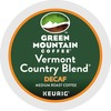Green Mountain Coffee Roasters Vermont Country Blend Decaf - DeCaffeinated - Medium - K-Cup - 96 / Carton