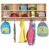 """Jonti-Craft young Time 10-Section Wall Locker - 10 Compartment(s) - 20"""" Height x 48"""" Width x 12"""" Depth - Baltic - 1Each"""