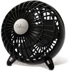 "Chillout USB Fan - 114.3 mm Diameter - 1 Speed - 6.1"" Height x 6.1"" Width x 6.1"" Depth - Black"