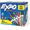 Expo Low-Odor Dry Erase Chisel Tip Markers - Chisel Marker Point Style - Assorted - 36 / Pack