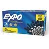 Expo Low-Odor Dry-erase Fine Tip Markers - Fine Marker Point - Black - 36 / Pack