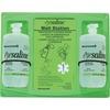 Honeywell Fendall 32 oz. Double Eyewash Wall Station - 2 lb - Green