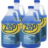 Zep Streak-free Glass Cleaner - Liquid - 128 fl oz (4 quart) - 4 / Carton - Blue