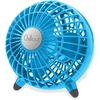 Chillout USB Fan - 1 Speed - Quiet - Plastic - Turquoise, Teal