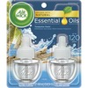 Air Wick Scented Oil Warmer Refill - Oil - 0.7 fl oz (0 quart) - Turquoise Oasis - 60 Day - 2 / Pack - Wall Mountable, Long Lasting